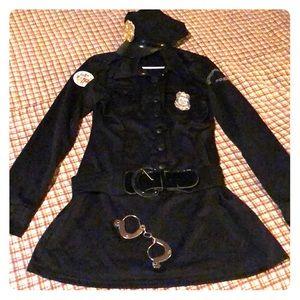 🎃 HALLOWEEN COP POLICE DRESS COSTUME Plus Size 1X